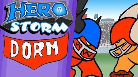 Heroes of the Dorm 2018 Trailer (HeroStorm Cartoon)