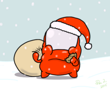 Christmas drawing challenge santa claus by space trio-d9j41o1