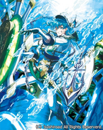 Blue Wave Soldier, Cimon (Full Art)