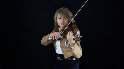 Attack on Titan Theme (Guren no Yumiya) - Violin - Taylor Davis