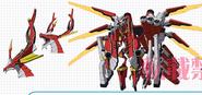 Flare Arms, Ziegenburg (Anime-Design)
