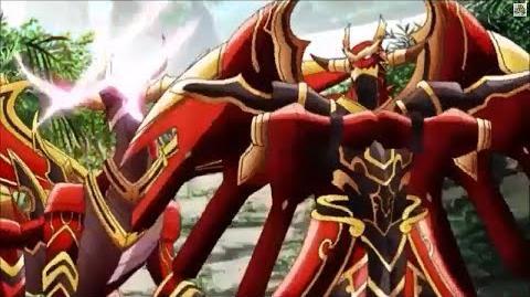 (Legion Mate) Cardfight!! Vanguard Brawler, Skybeat Dragon & Brawler, Skyhowl Dragon 'Legion' - HD