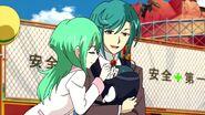 Mamarou and Tokoha and Baby Ryuzu