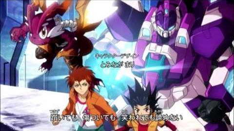V ROAD BUSHI☆7 Cardfight!! Vanguard Legion Mate Hen OP7 HD Full 1080