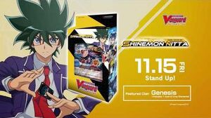 Cardfight!! Vanguard Trial Deck 09 Shinemon Nitta