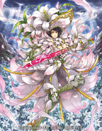 Maiden White Lily Musketeer Captain, Virginal Cecilia (Full Art)