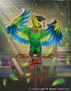 Blackboard Parrot (Full Art-V)