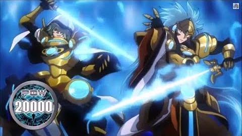 (Legion Mate) Blue Flame Liberator, Percival & Liberator of Oath, Aglovale 'Legion' - HD-0