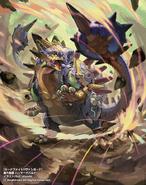 Destructive Equipment, Hammer Gewalt (Full Art)