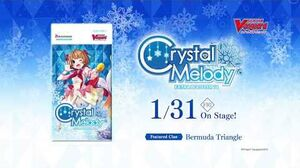 Cardfight!! Vanguard Extra Booster 11 Crystal Melody