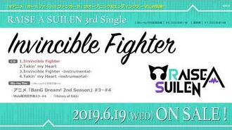 【試聴動画】RAISE A SUILEN 3rd Single「Invincible Fighter」(6 19発売!!)