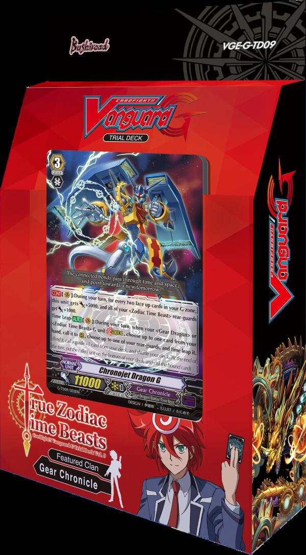 Cardfight! Vanguard PROMO Card Deck Case Box Zodiac Time Beast Gear Chronicle