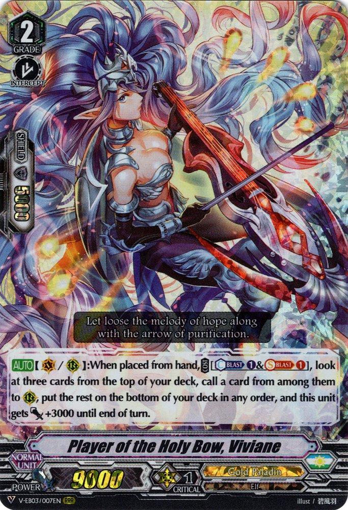 Vanguard Battlefield Storm Bushiroad Cardfight!! Sagramore V-EB03//013EN RR
