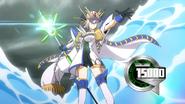 Blue Wave Armor General, Galfilia (Anime-Z-NC)