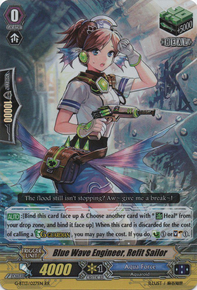 Blue Wave Engineer, Refit Sailor | Cardfight!! Vanguard Wiki