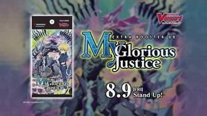 Cardfight!! Vanguard Extra Booster 08 My Glorious Justice