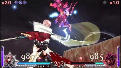 DISSIDIA FINAL FANTASY DUODECIM Lightning VS Kain