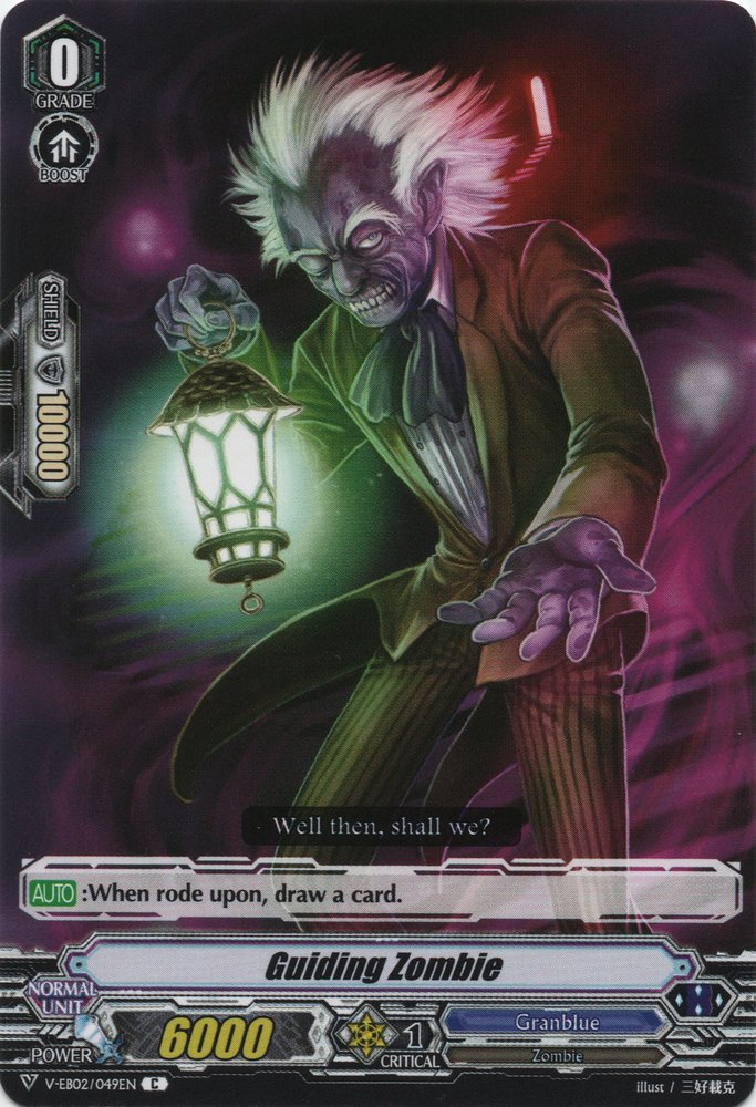 Granblue Guiding Zombie V-EB02//049EN C Cardfight Vanguard