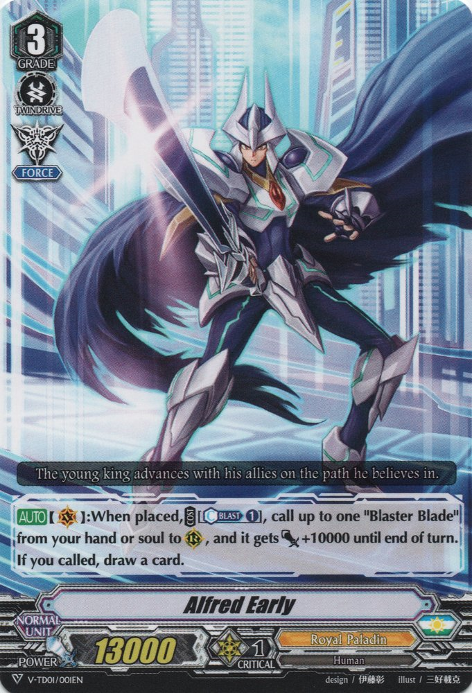 Alfred Early (V Series)   Cardfight!! Vanguard Wiki ...