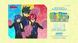 """Cardfight!! Vanguard Special Series 03 """"Festival Collection″"""