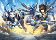 Swordmy & Yvain (Full Art)