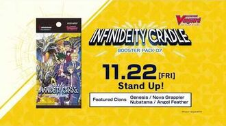 Cardfight!! Vanguard Booster Pack Vol. 07 Infinideity Cradle
