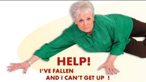 Image result for i've fallen and i cant get up