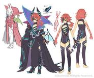 Dragwizard, Iucharba (Design)