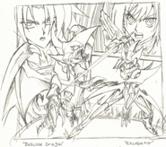 Bellicose Dragon & Exculpator (Manga-Concept)