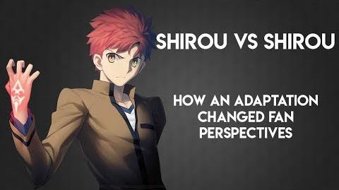 Shirou vs Shirou How an Adaptation Changed Fan Perspectives
