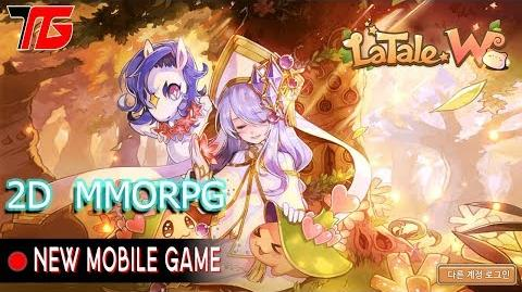 LaTale W Gameplay Android ( KR ) 2D MMORPG Side Scrolling
