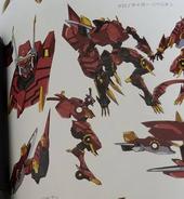 Chronotiger Rebellion (Anime-Design)