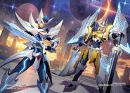 Blaster Blade Seeker & Alfred Exiv (Full Art)