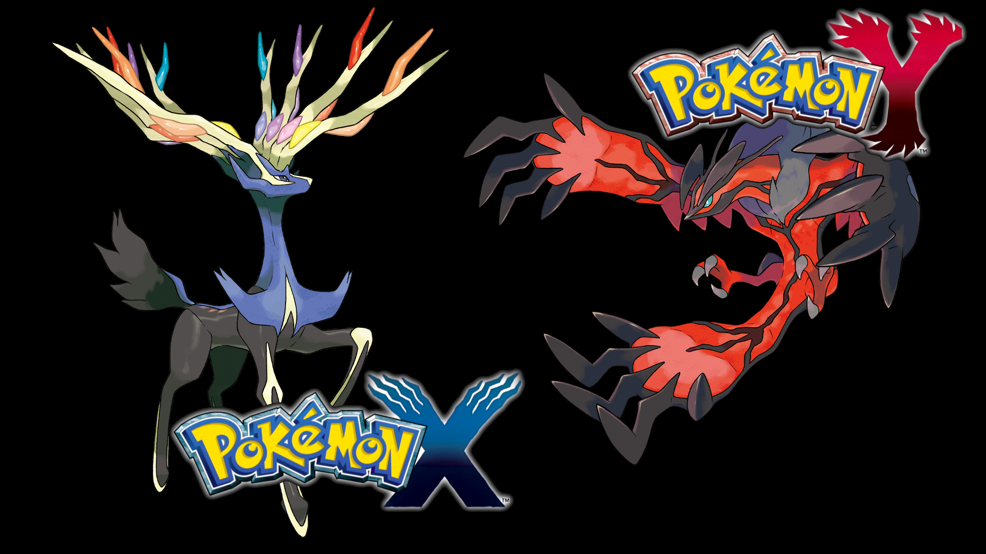 image - pokemon xy legendaries wallpaper | cardfight