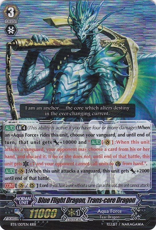 Magallanica Aqua Force//Granblue x 1 Various Sets Cardfight Vanguard Cards