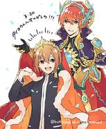 Golden Holy Sword, Gurguit & Taiyou (Extra)