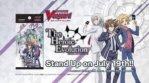 Cardfight!! Vanguard Extra Booster 07 The Heroic Evolution