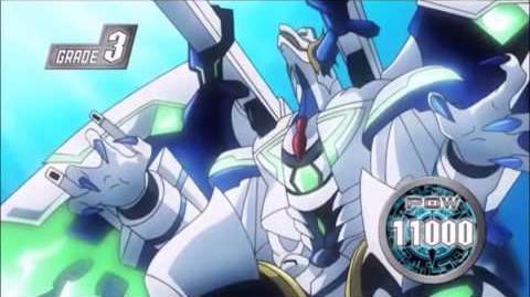 (Legion Mate) Cardfight!! Vanguard Blue Storm Wave Dragon, Tetra-burst Dragon - HD