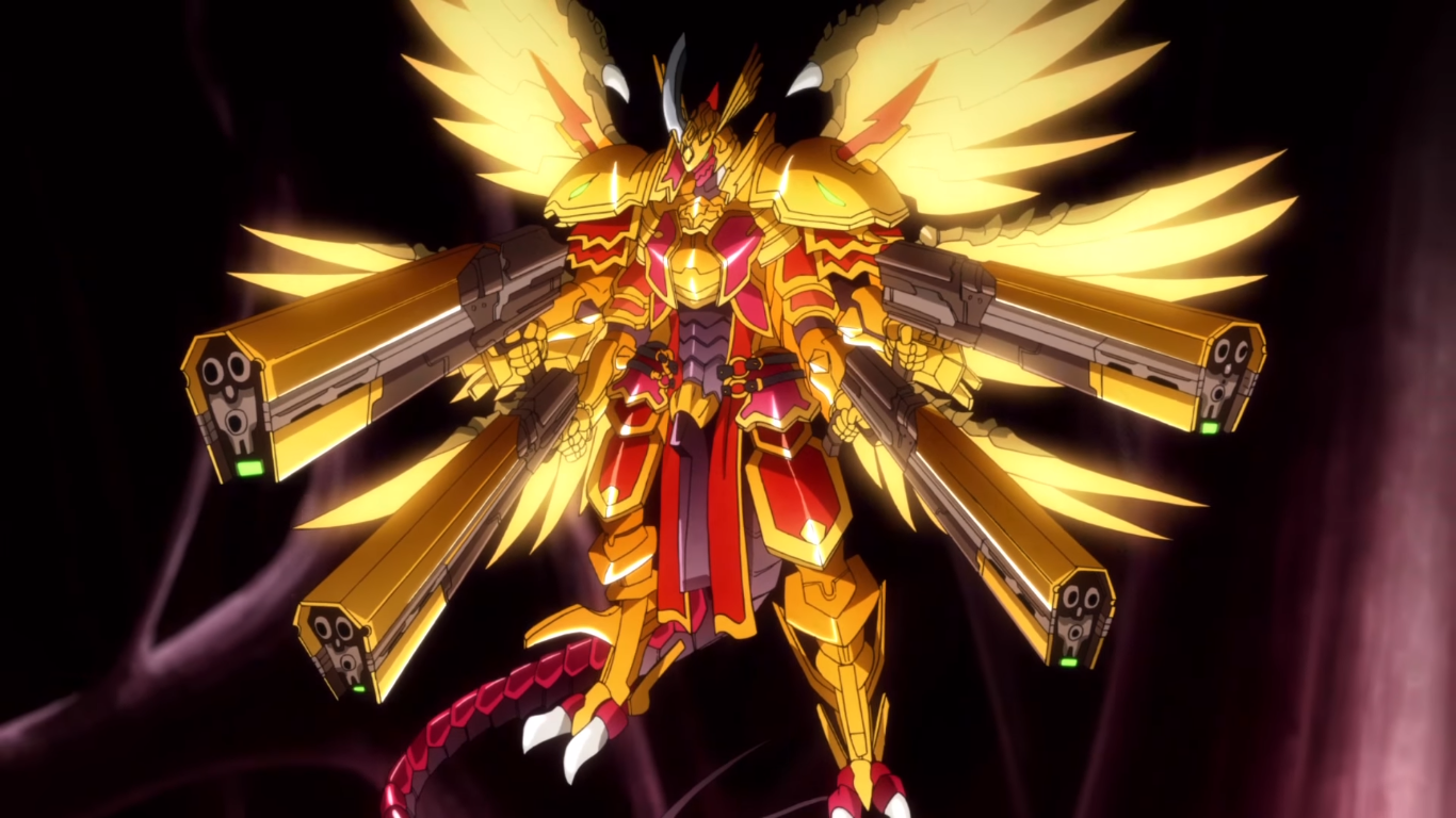 Supreme Heavenly Emperor Dragon Dragonic Overlord The Purge Anime Z NC