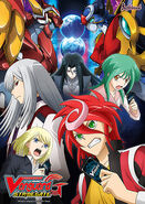 Cardfight!! Vanguard G Stride Gate Poster