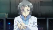 Tatsuya asking Ryuzu to perform a damage check