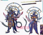 Evil-eye Hades Emperor, Shiranui Mukuro (Anime-Design)