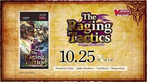 Cardfight!! Vanguard Extra Booster 09 The Raging Tactics