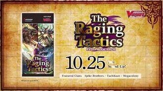 Cardfight!! Vanguard Extra Booster 09 The Raging Tactics