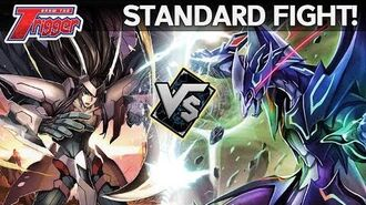 GOLD PALADIN vs SHADOW PALADIN - Standard Fight - Cardfight!! Vanguard