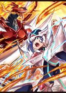 Dragonic Overlord Kai & Blaster Blade Aichi (Extra)