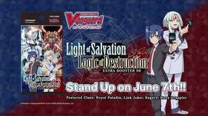 Cardfight!! Vanguard Extra Booster 06 Light of Salvation, Logic of Destruction