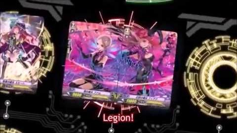 (Legion Mate) Cardfight!! Vanguard Dazzling Witch, Fiana & Reality Witch, Famm 'Legion' - HD