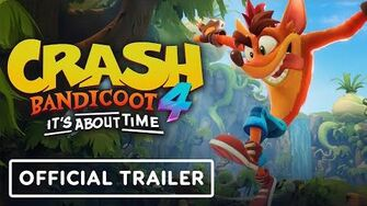 Crash Bandicoot 4 It's About Time - Official Trailer-0