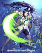 Blue Storm Soldier, Tempest Blader (Full Art)